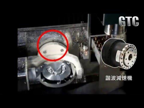 鼎億GTC-諧波減速機-應用在牙模製作上