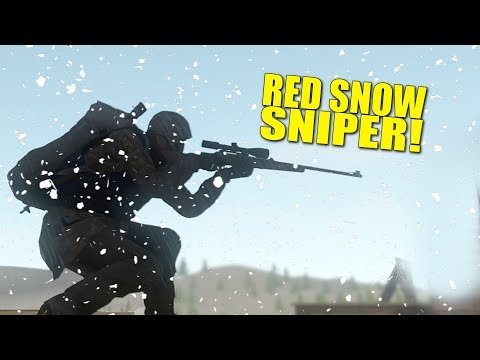 RED SNOW SNIPER! - Miscreated (Survival)