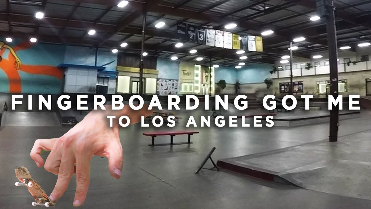 Fingerboarding Got Me To Los Angeles - A Trip To The Berrics