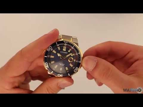 WatchO.co.uk - Citizen Endeavor Sports Eco-Drive Watch AW1424-54L| Unboxing & Close Look
