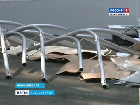 В Новосибирске восстановили сад Дзержинского