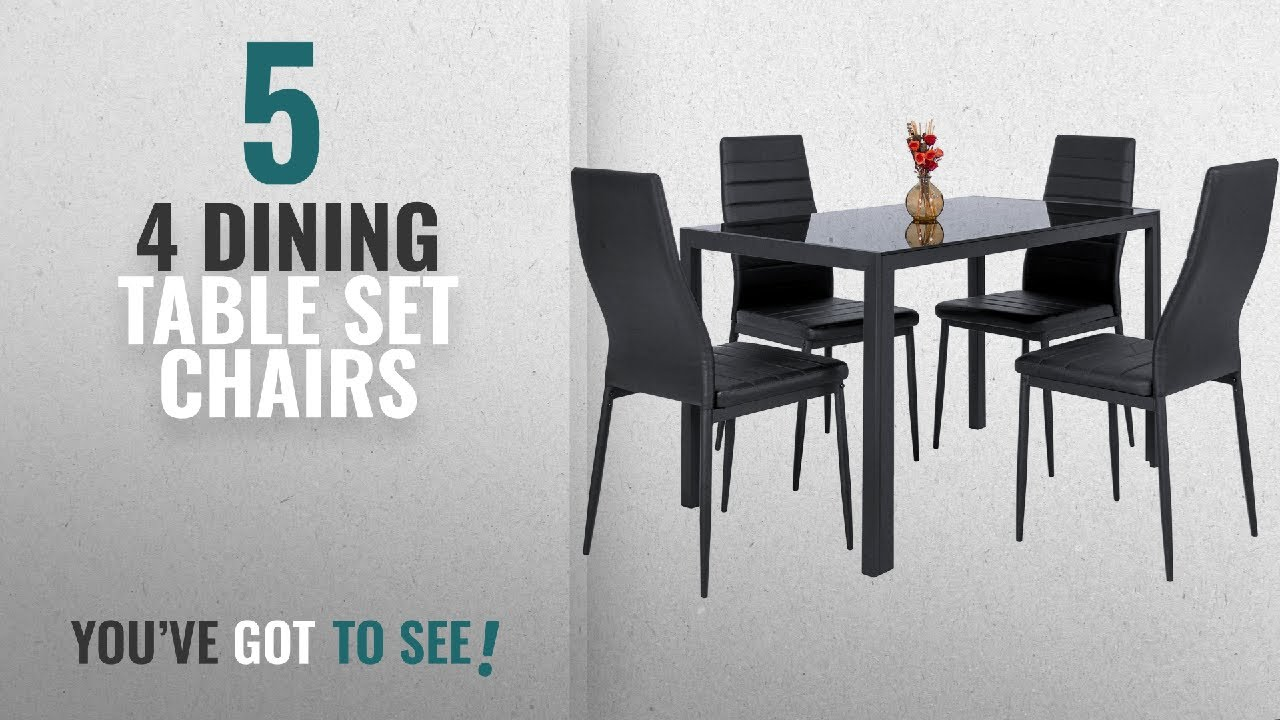 Top 10 Chairs 4 Dining Table Set [2018] Best Choice Products 5 Piece Kitchen Dining Table Set W/ & Top 10 Chairs 4 Dining Table Set [2018]: Best Choice Products 5 ...