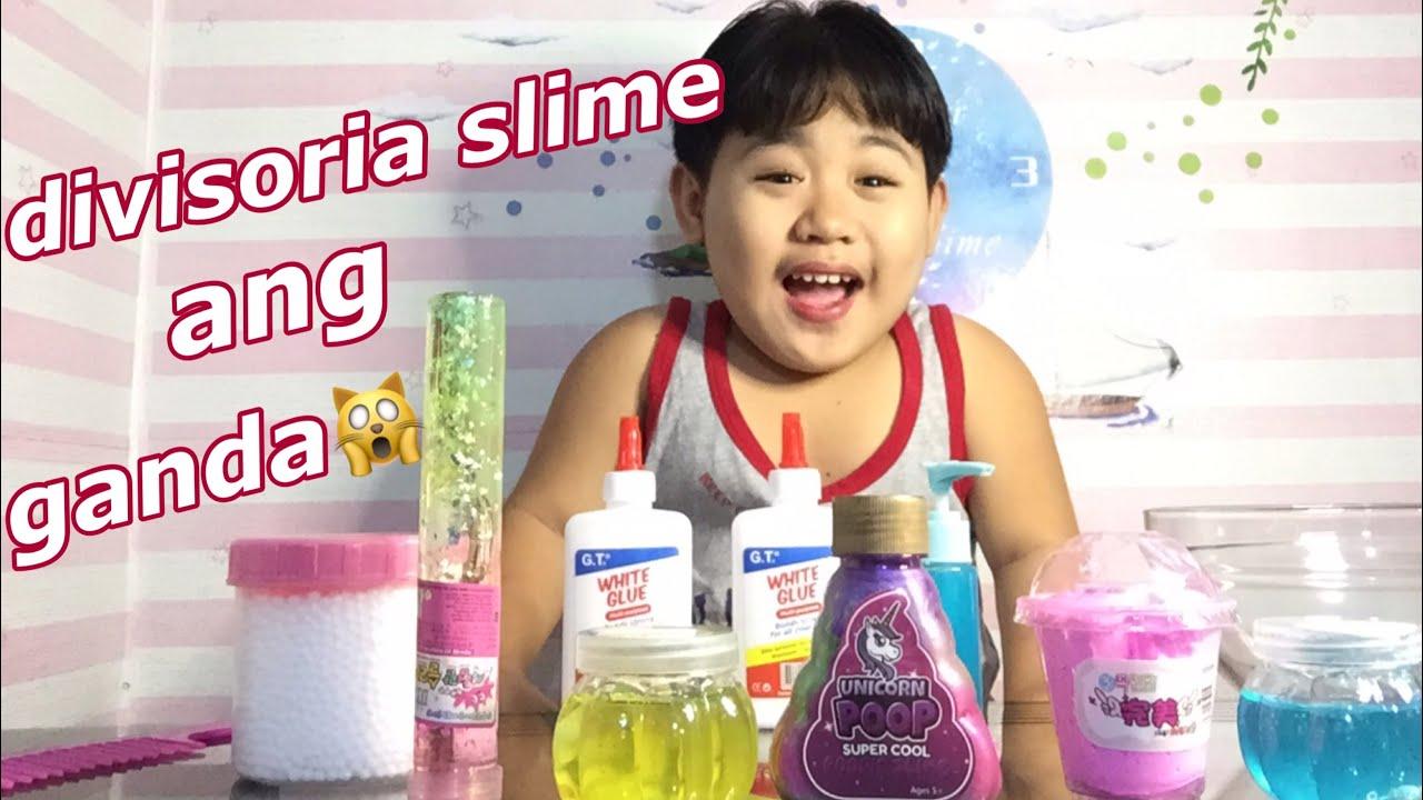 Download SLIME MAKING AT DIVISORIA SLIME REVIEW( WOW ANG GANDA) ||SAMMY MANESE||
