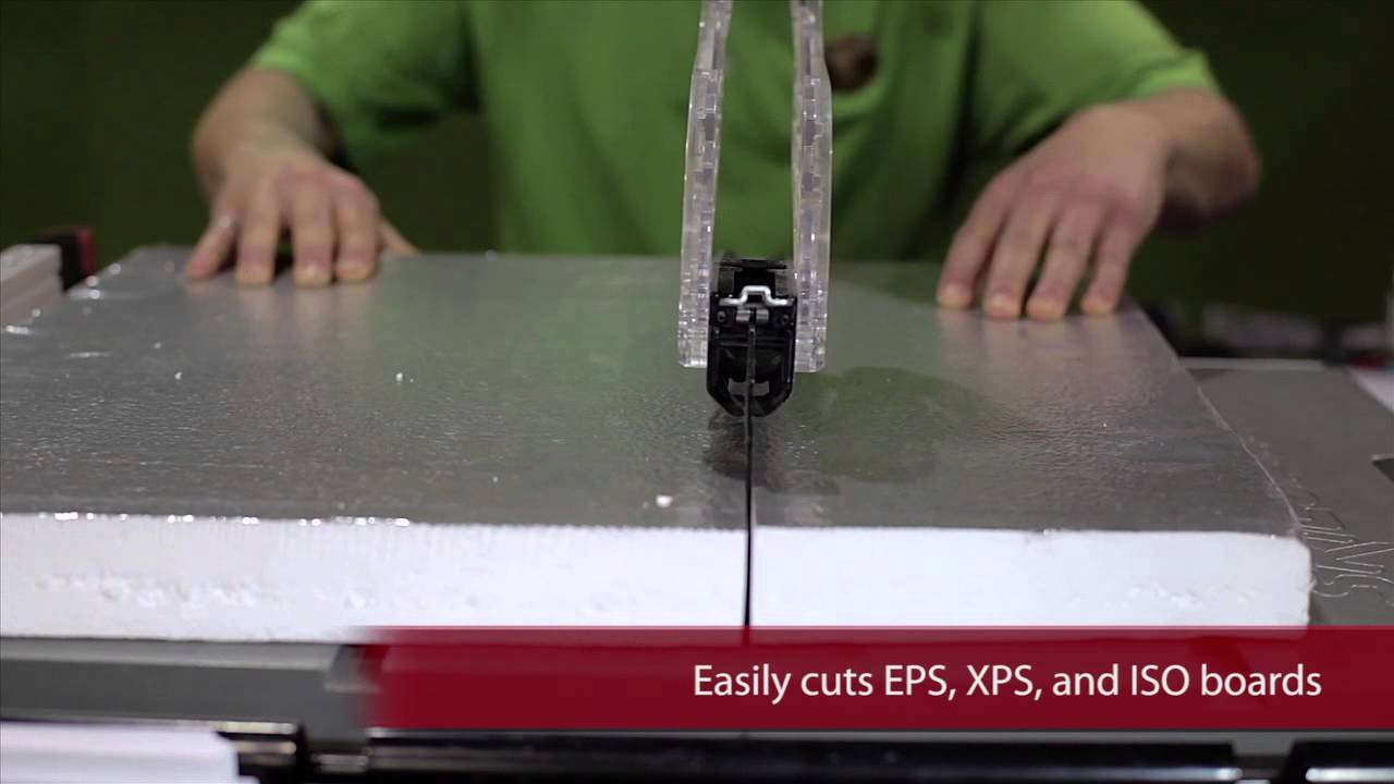 Fastest Way to Cut Rigid Foam Insulation | Bullet Tools Centerfire Blade