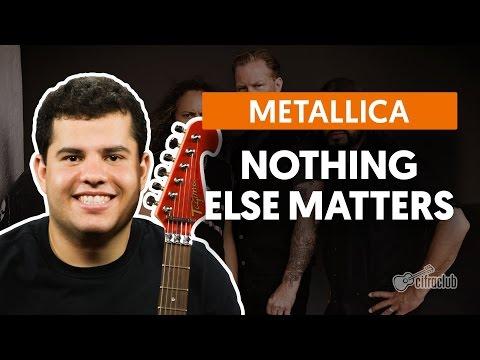 Nothing Else Matters - Metallica (aula de violão e guitarra)