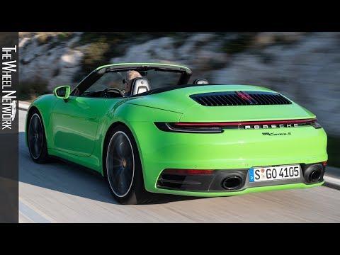 2020 Porsche 911 Carrera S Cabriolet | Lizard Green | Driving, Exterior
