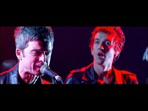 Noel Gallagher and Damon Albarn performing We Got The Power! HD
