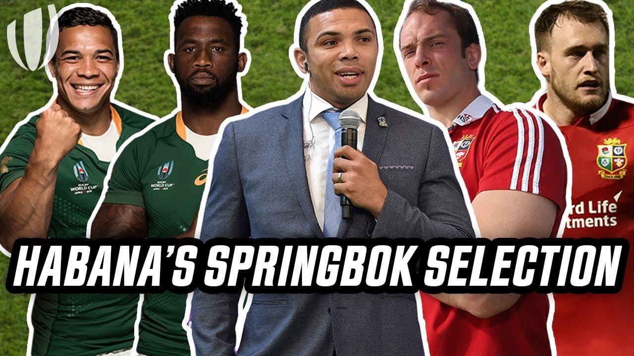 Bryan Habana's perfect Springboks side to take on the British & Irish Lions | The Wrap - World Rugby