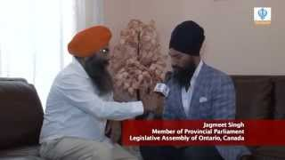301214 Sikh Channel Australia: Special Interview - Jagmeet Singh MPP (Ontario, Canada)