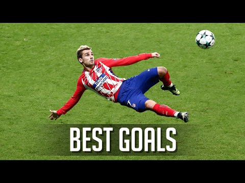 Antoine Griezmann's BEST Goals for Atletico Madrid 😍
