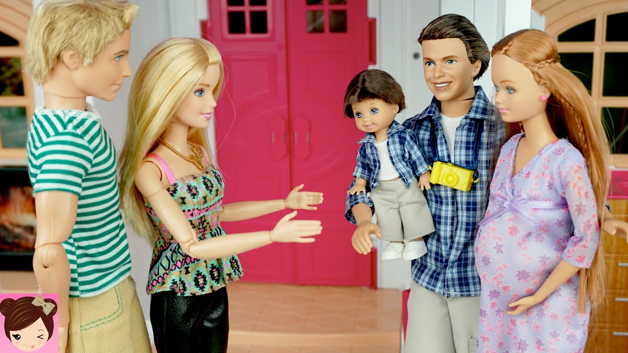 Barbie Midge Visits Barbie And Ken In The Dreamhouse