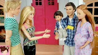 Barbie Midge Visits Barbie and Ken in The Dreamhouse - Stories with Dolls - Titi Toys