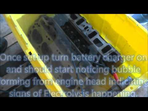 Engine cleaning & Electrolysis