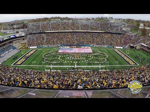 "2017 West Virginia University Marching Band ""Armed Forces Salute"""