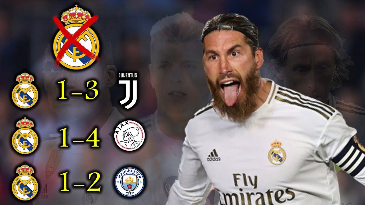 شاهد ماذا يحدث لريال مدريد بدون راموس وجنون المعلقين