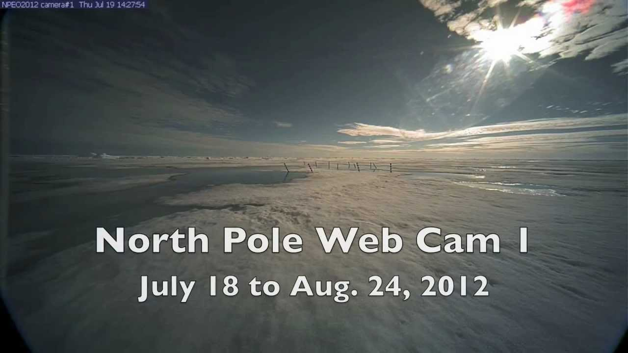 The science of why the north pole is cold