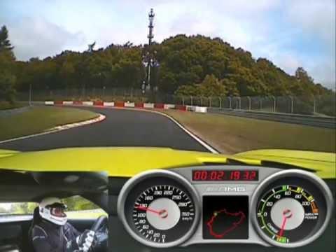 Mercedes SLS AMG Electric Drive - Nürburgring-Rekordfahrt