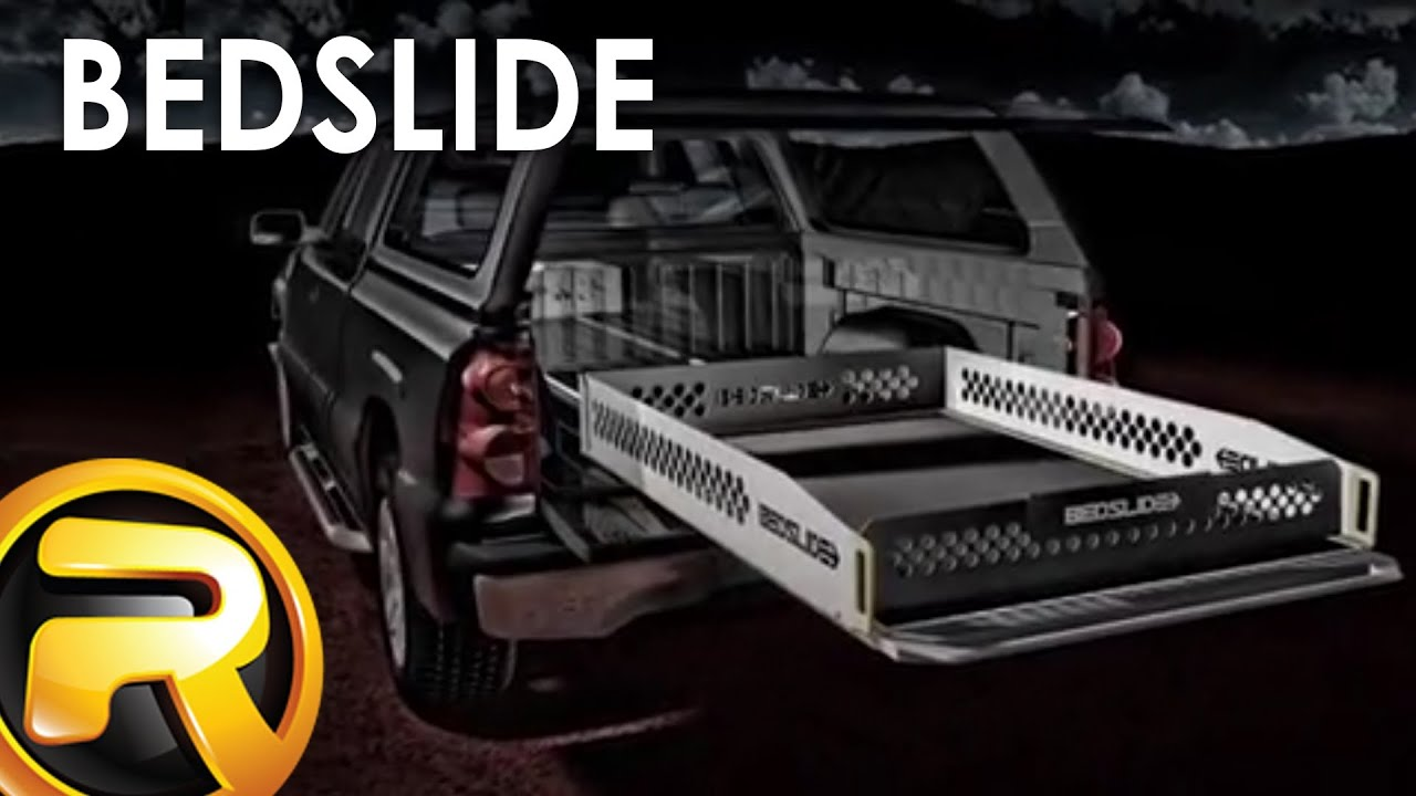 Bedslide Truck Bed Cargo Slide Youtube