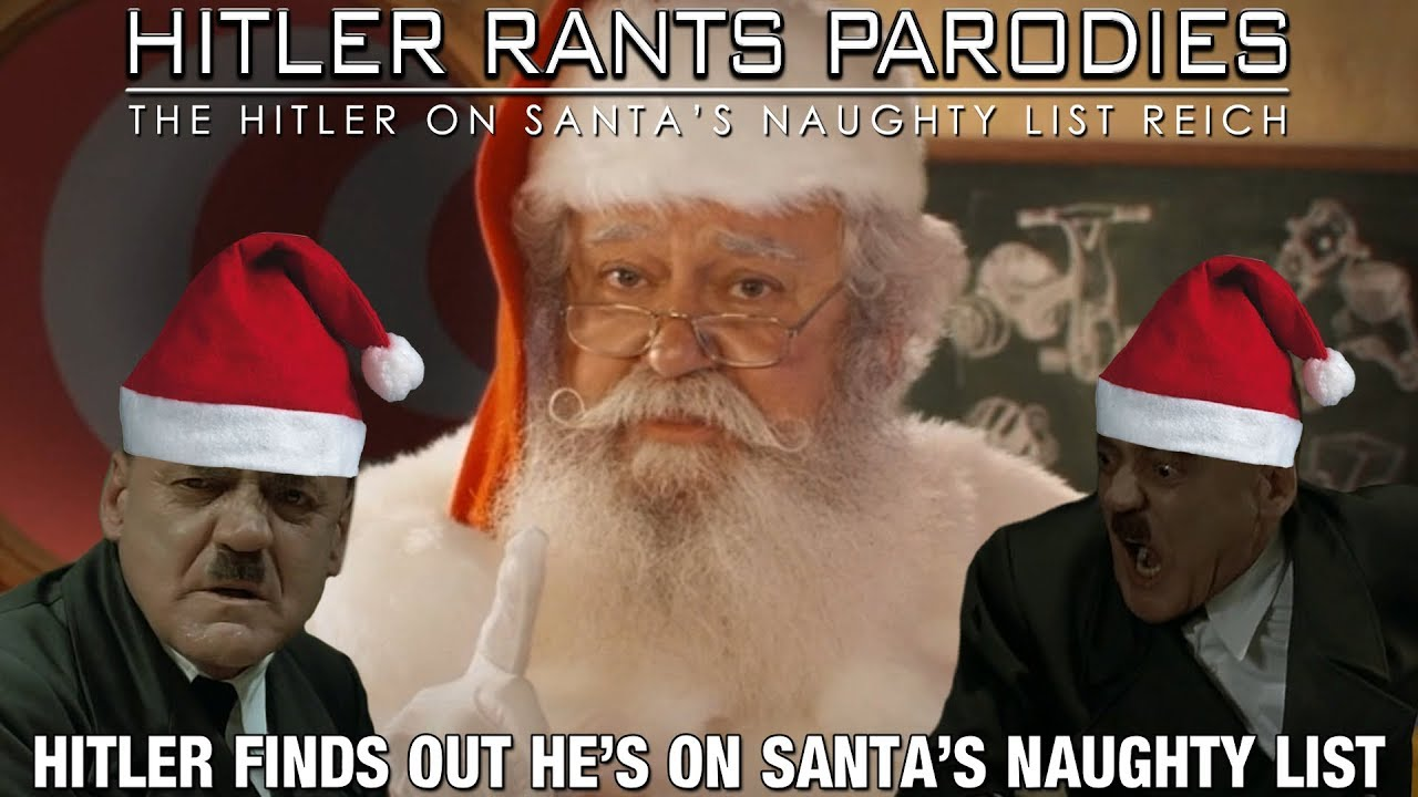 Hitler finds out he's on Santa's naughty list