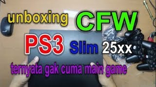 Unboxing PS3 Slim CFW (Custom FirmWare)  + TEST