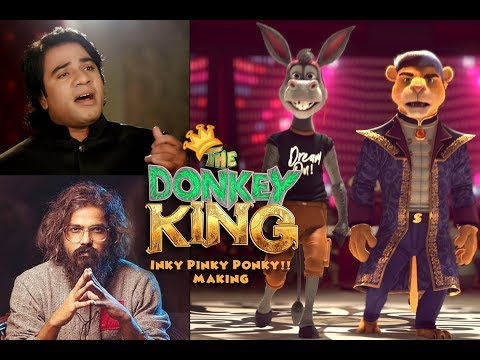 The Donkey King | Inky Pinky Ponky - Song Making