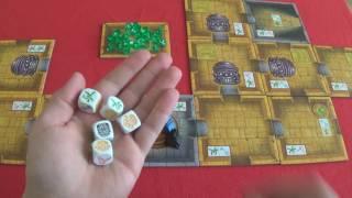 Escape: The Curse of the Temple - társasjáték bemutató