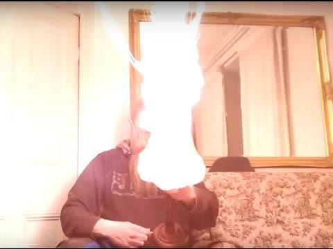 Dangerous LED lamp explodes!
