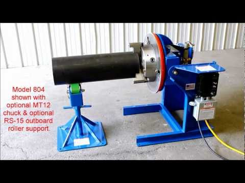 Model 804 Welding Positioner from All-Fab Corp.