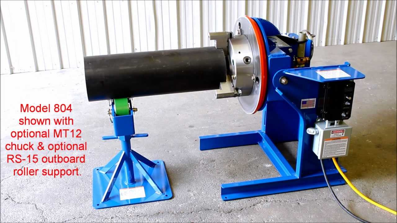 Model 804 Welding Positioner From All Fab Corp Youtube