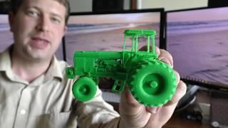 3D Printing a John Deere 4760