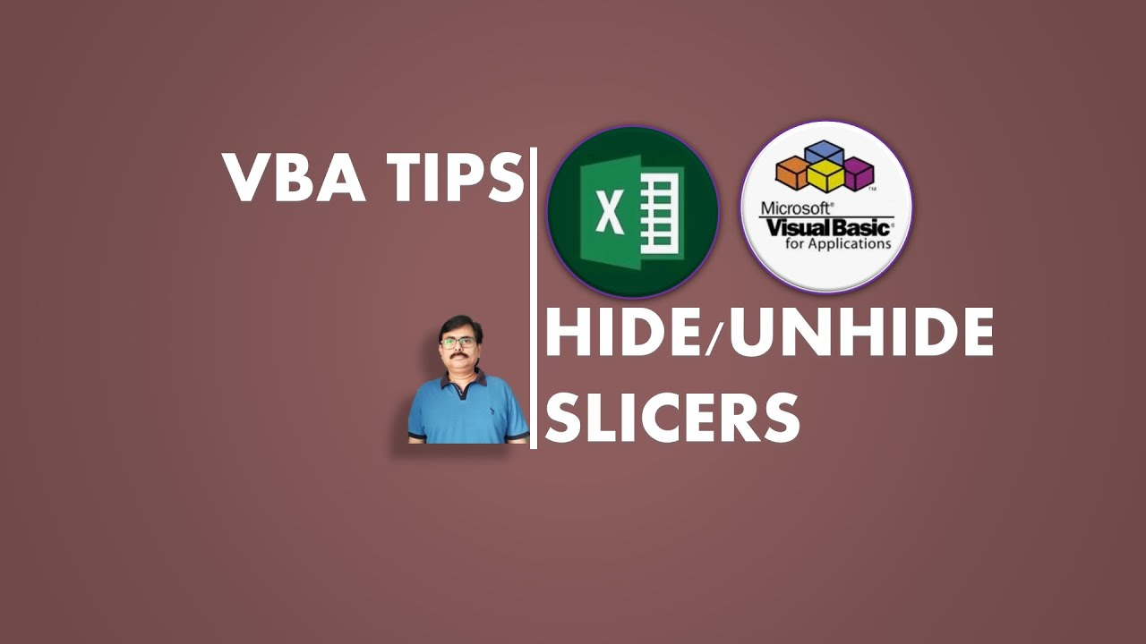 Hide and Unhide Pivot Table Slicers