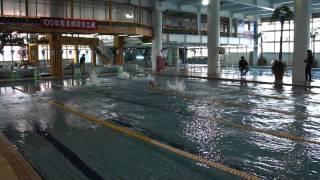 龍潭鄉百年游泳比賽--國中組50蝶式