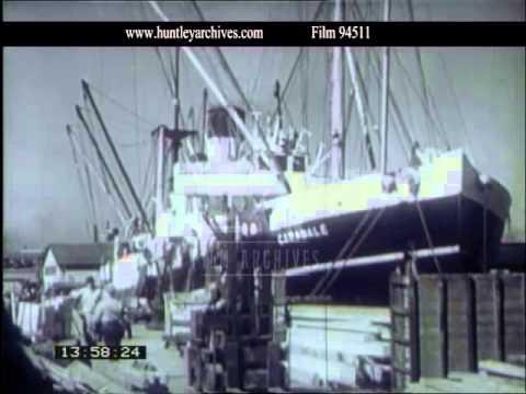 Port of Melbourne, 1940s - Film 94511