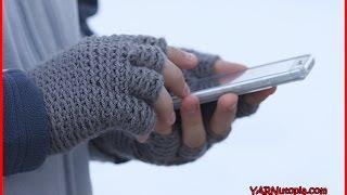 Crochet Tutorial: Freestyle Fingerless Gloves