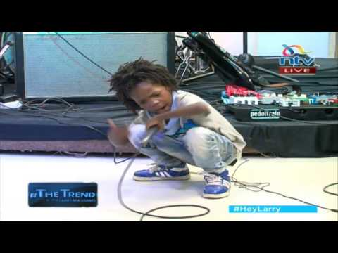 Ekko Dyda's sons Keep It Real and I am Blessed perform 'Sunday nipate kwa church' #theTrend