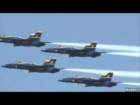 Virginia Beach Oceanfront Air Show 2012 - Blue Angels