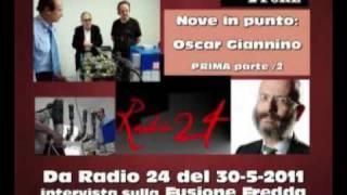 Il punto sulla FUSIONE FREDDA - da RADIO 24 del 30-5-2011 - 1/2