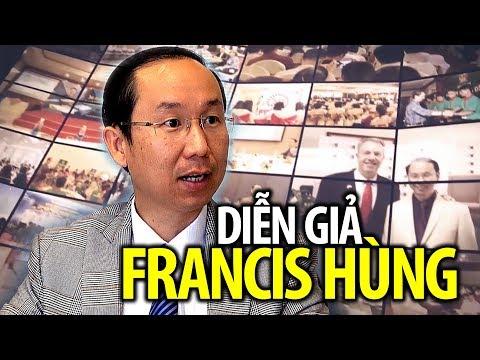 Diễn giả Francis Hùng, người Việt Nam đầu tiên đi Mỹ diện nhân tài
