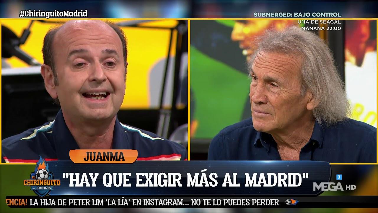 💥 JUANMA RODRÍGUEZ 'ESTALLA' por el JUEGO del MADRID 💥