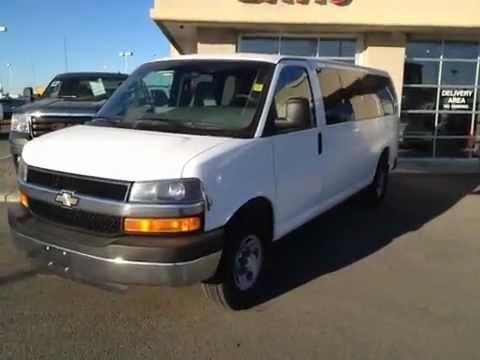 Davis Gmc Lethbridge >> Used Chevrolet 15 Passenger Van   For Sale in Alberta   Davis GMC Buick Lethbridge - YouTube