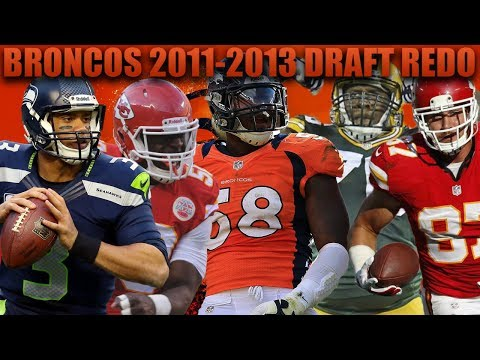 Denver Broncos 2011-2013 Nfl Draft Redo! Madden 18 First Sup