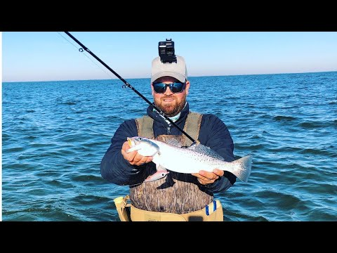 Fall Wade Fishing In Galveston With CORKY FAT BOY