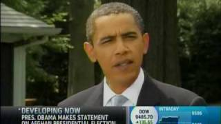 Schnittshow.com: Obama Offers Congrats To Afghanistan Before Heading Out On Vacation