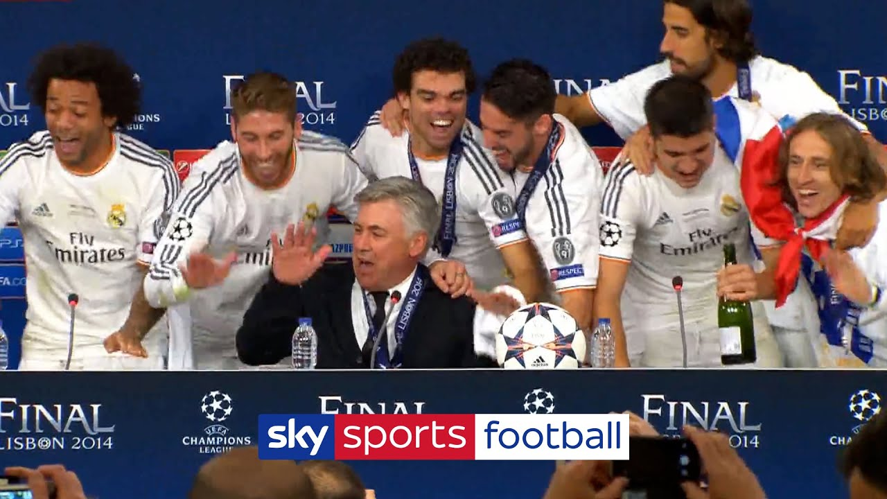 ◆リーガ◆レアル・マドリー新監督はアンチェロッティに決定!クラブ公式が発表