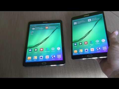 Samsung Galaxy Tab S2 8.0 a 9.7