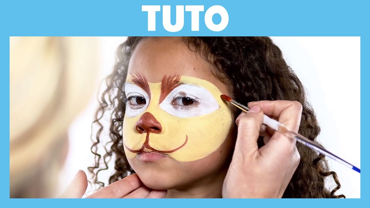 Super La Garde du Roi Lion - Tuto : Maquillage de Fuli - YouTube PZ03