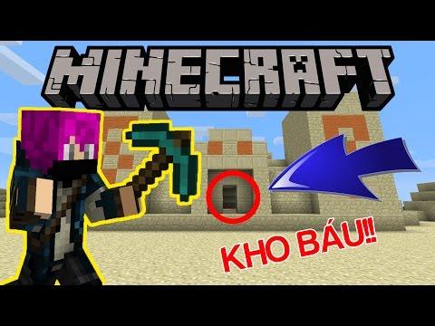 TRUY TÌM KHO BÁU TRONG ĐỀN THỜ !!! | Minecraft Map