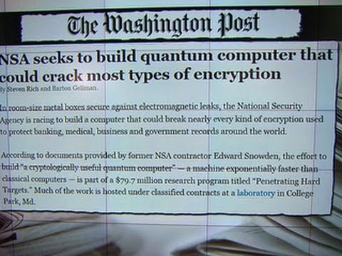 NSA reportedly developing way to break all codes