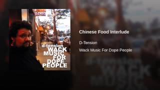 Chinese Food Interlude