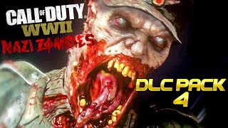 NEW DLC MAP PACK 4! - (COD: WWII ZOMBIES)